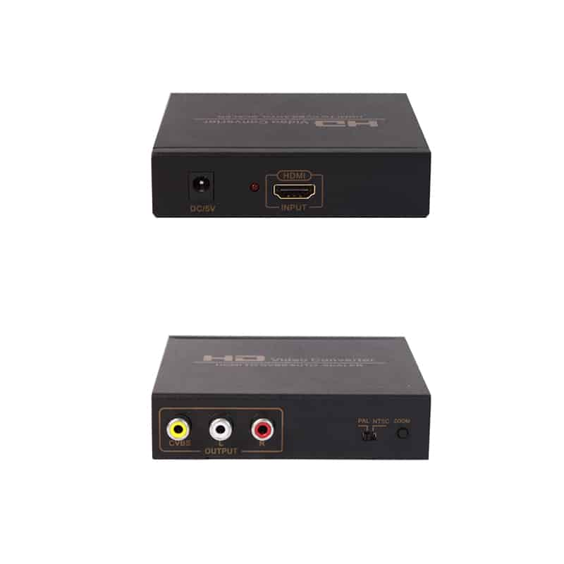 HDMI to AV RCA converter
